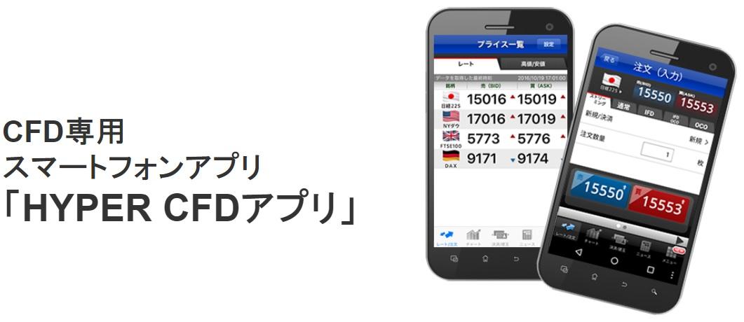 SBI証券 HYPER CFDアプリ