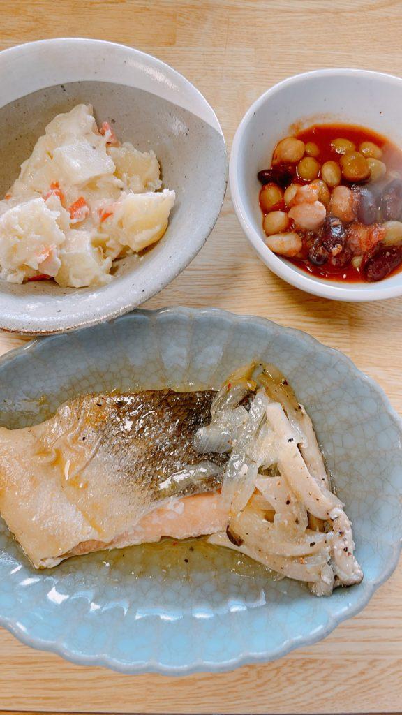 わんまいる お試し 北海道産鮭のレモンペッパーオイル焼