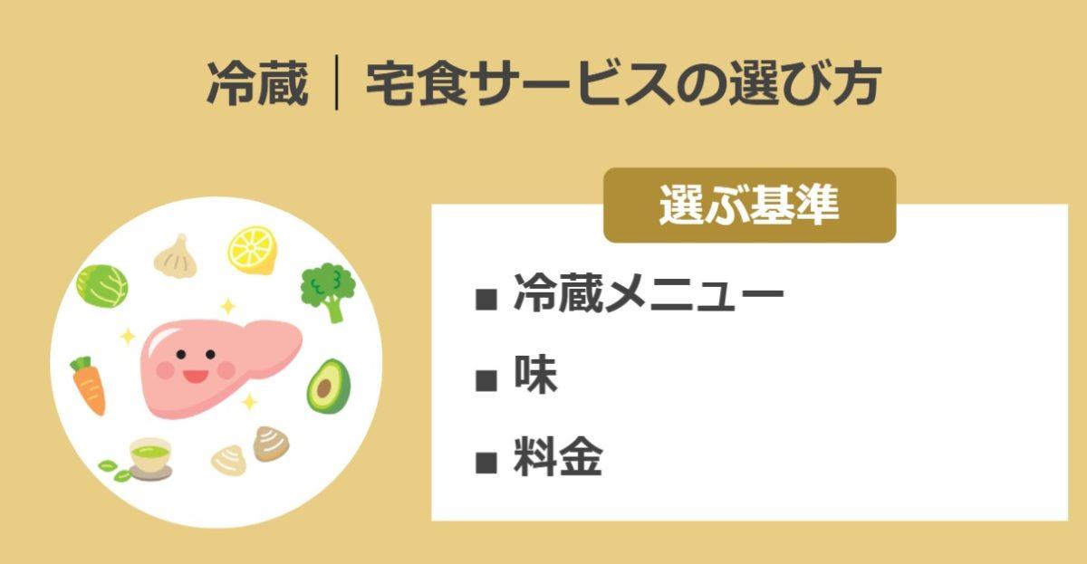 冷蔵の宅配弁当ランキングの選び方