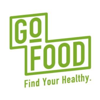 gofood(ゴーフード)ロゴ正方形